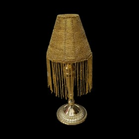 Gold Lamp Shade Votive Holder