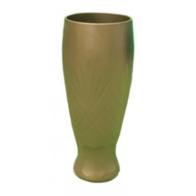 Amber Bud Vase