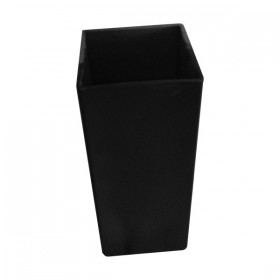 Black Square Vases