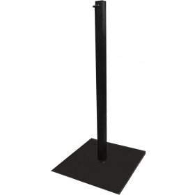 Square Black Stanchion