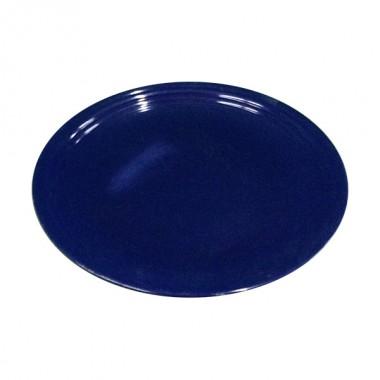 Round Blue Plate