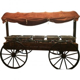 Covered Food Wagon
