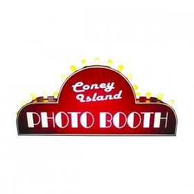 Coney Island Photo Booth Sign