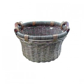 Deep Weaved Brown Basket