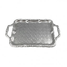 Flat Silver Serving Tray