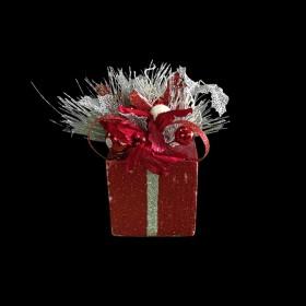 Small Glitter Christmas Present