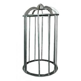 Go Go Dancer Cage - Silver