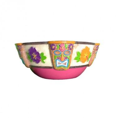 Hawaiian Plastic Tiki Bowl