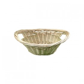 Large Light Weaved Basket with Handles
