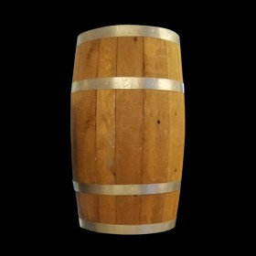 Large Wood Barrel