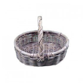 Light Wood Weaved Basket