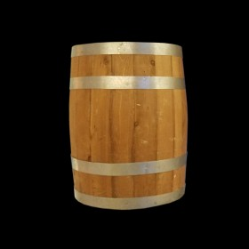 Medium Wood Barrel