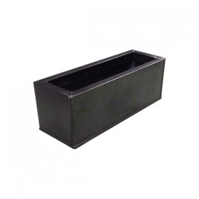 Pewter Rectangular Planter