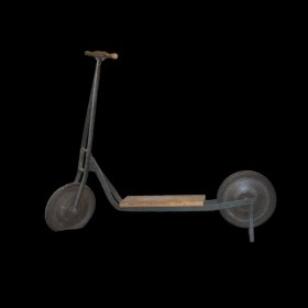 Antique Foot Scooter