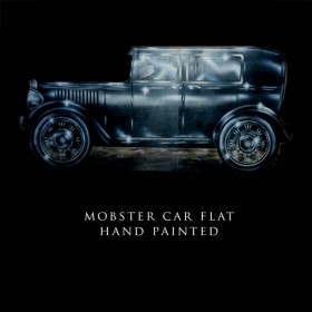 Mobster Car Flat Hand Painted