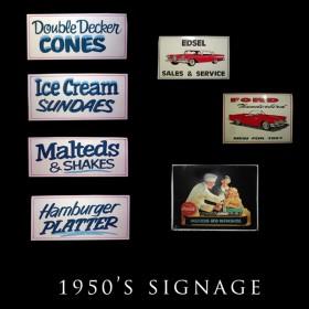 50's Signage