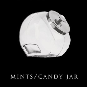Vintage Mints and Candy Jar
