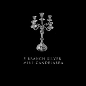 5 Branch Mini-Candelabra
