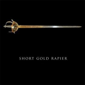 Cast Gold Rapier