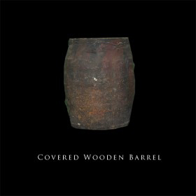Covered Wooden Barrel