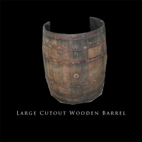 Large Cutout Barrel