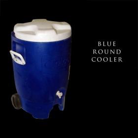 Blue Round Cooler