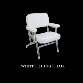 White Fishing Chair