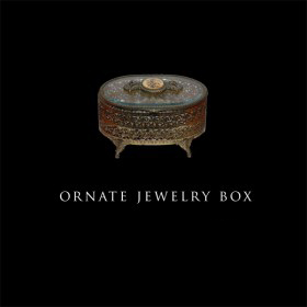 Ornate Jewlelry Box