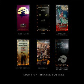 Light Up Theater Posters