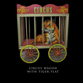 Circus Wagon with Tiger Flat