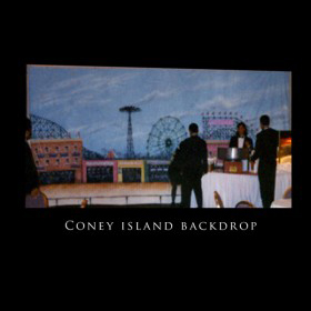 Coney Island Backdrop