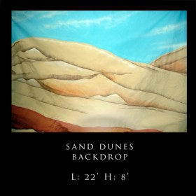 Dunes Backdrop