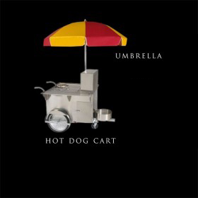 Classic Hot Dog Cart