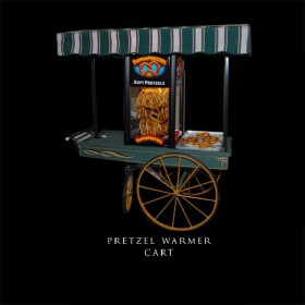Pretzel Warmer Cart