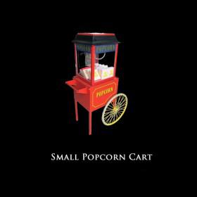 Small Popcorn Cart