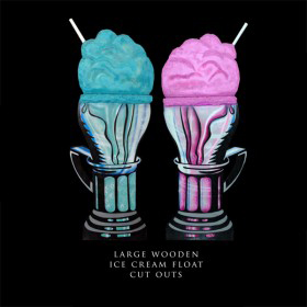 Large Ice Cream Float Cutouts