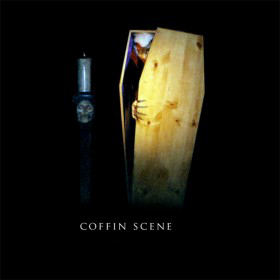 Halloween Coffin Scene Set