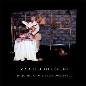 Mad Doctor Scene Set