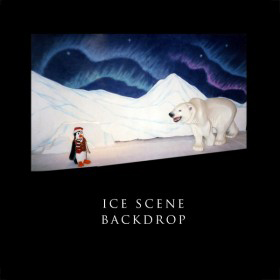 Ice Scene Backdrop