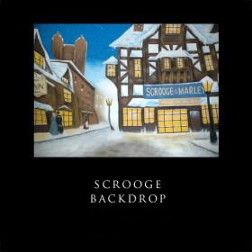 Scrooge Backdrop