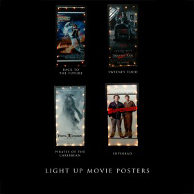 Light Up Movie Posters