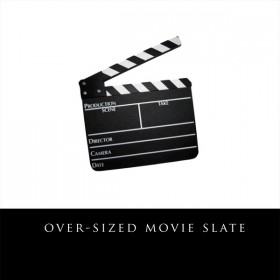 Over Sized Movie Slate