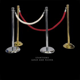 Stanchions Gold and Silver