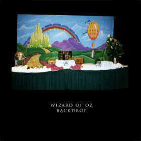 Wizard of Oz Backdrop
