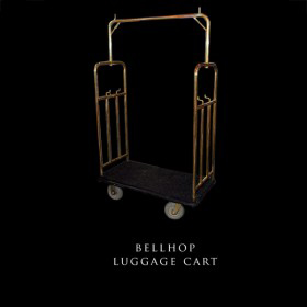 Bellhop Luggage Cart
