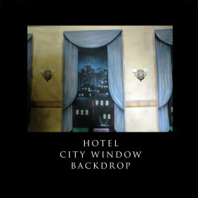 City Window Backdrop