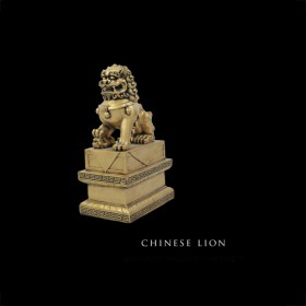 Chinese Lion & Asian Pillar