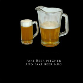 Fake Beer Pitcher and Mug