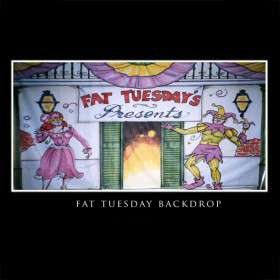 Fat Tuesday Backdrop