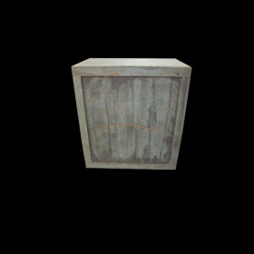 Large Weather Washed Crate